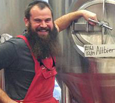 Head Brewer Brian Cardwell